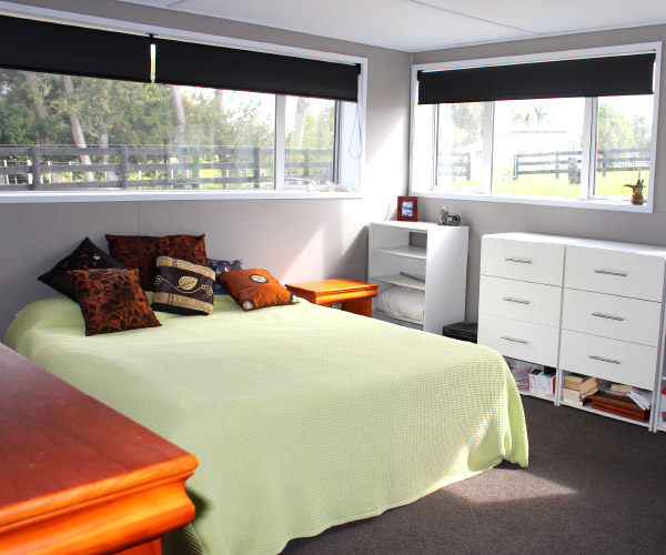 Living Shed - Bedroom