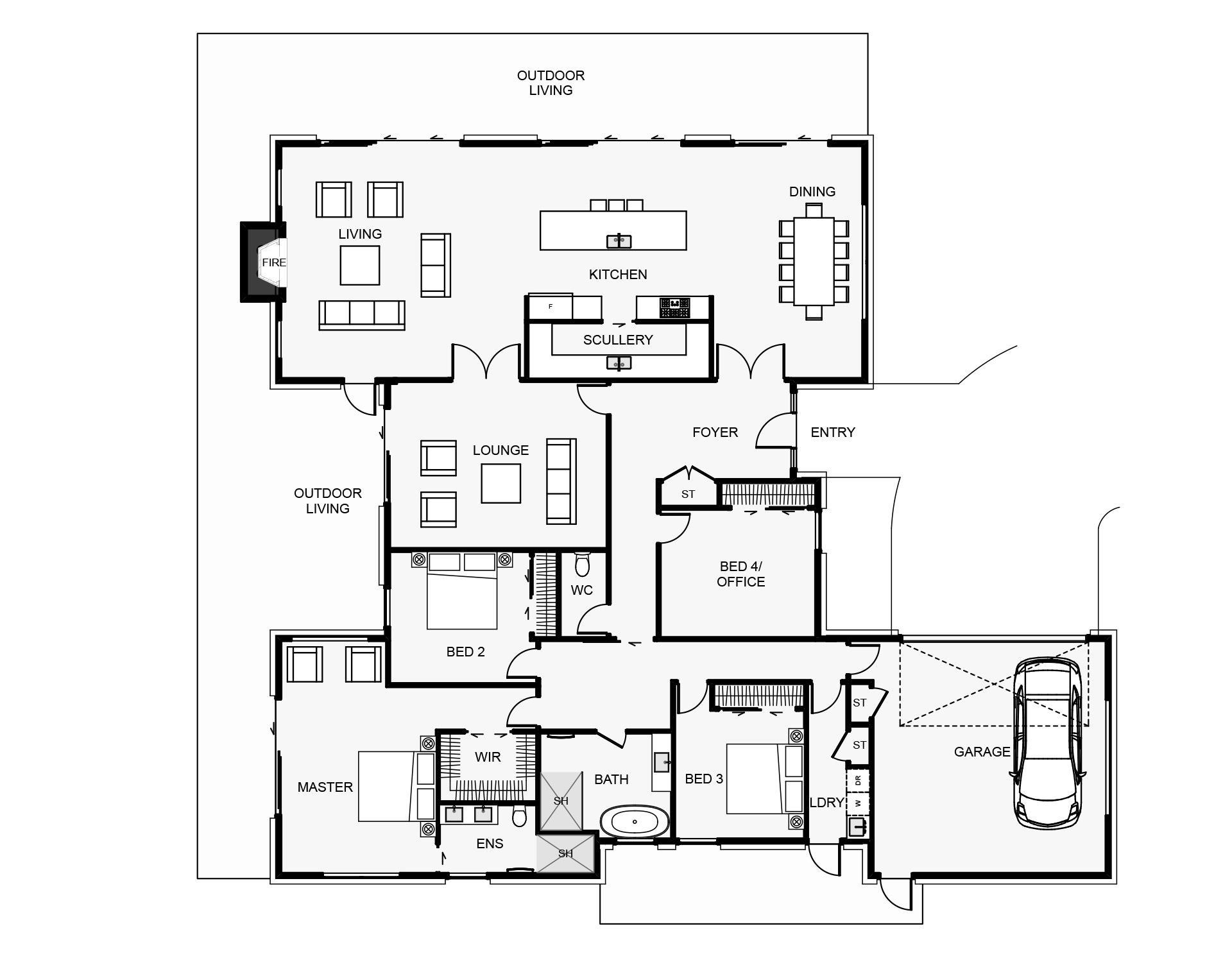 Tumbleweed Floorplan