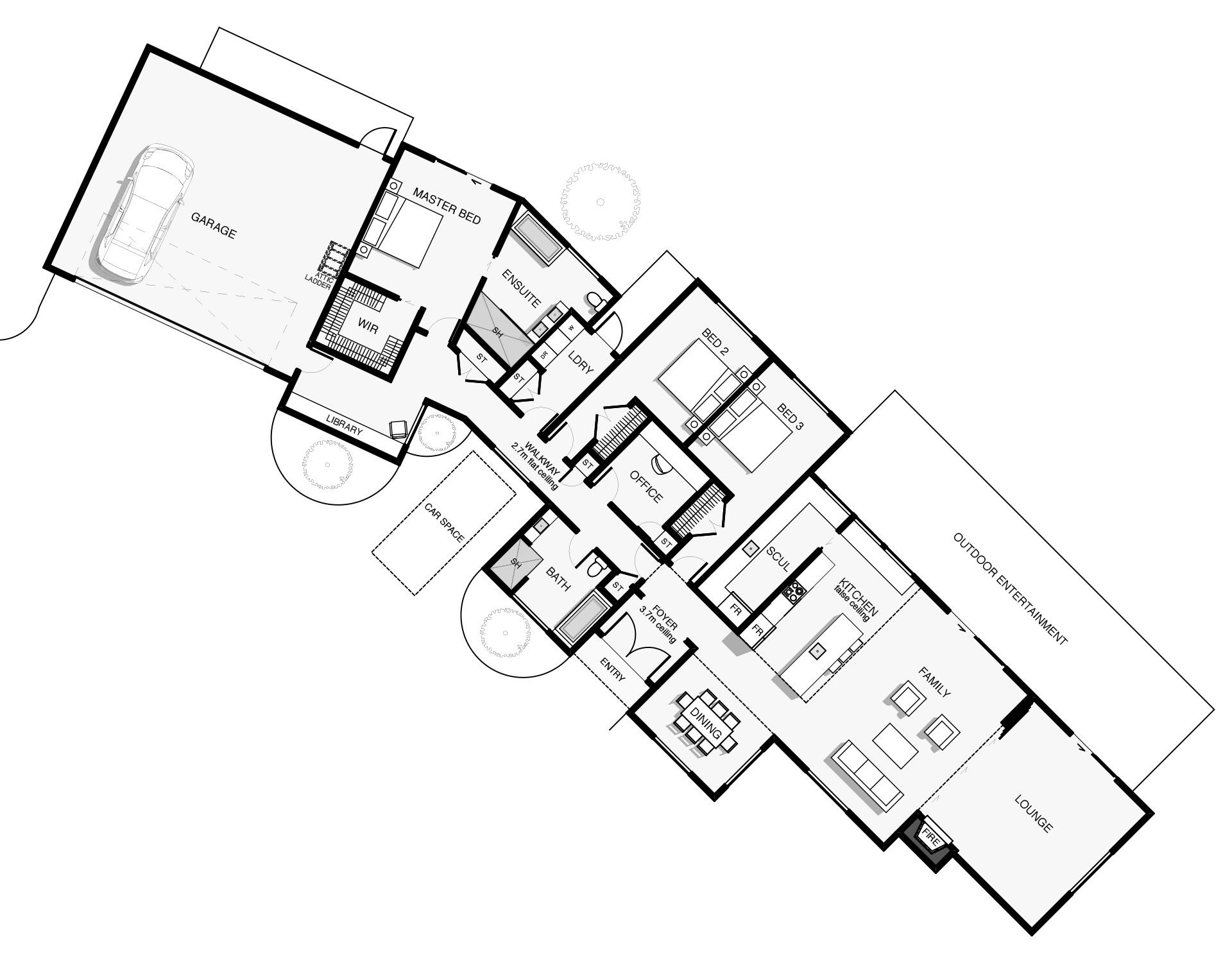 Corriedale Floorplan