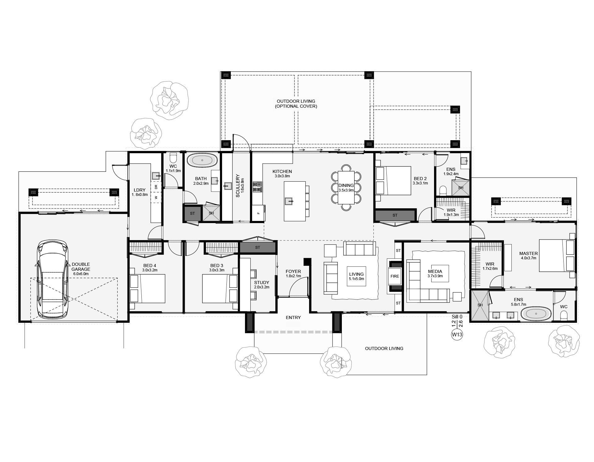 Tussock Floorplan