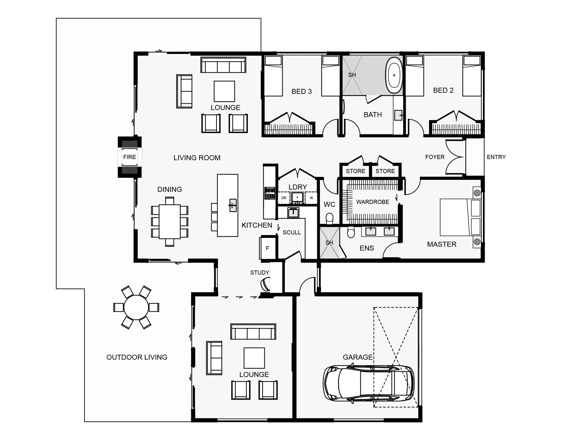 Romney Floorplan