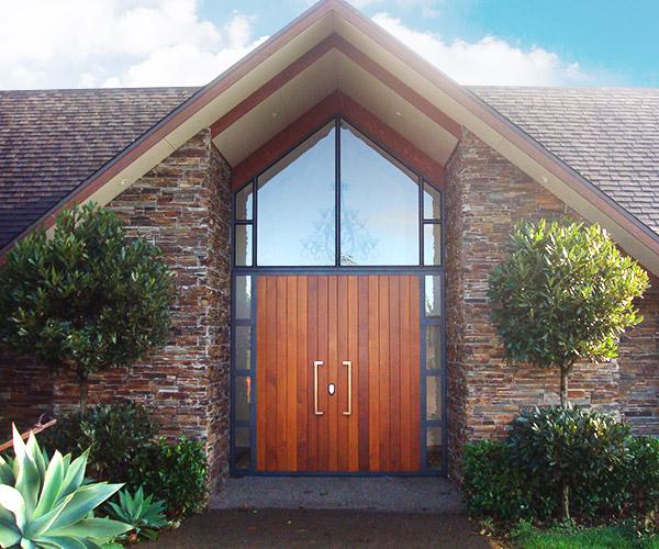 New Home - Front Door