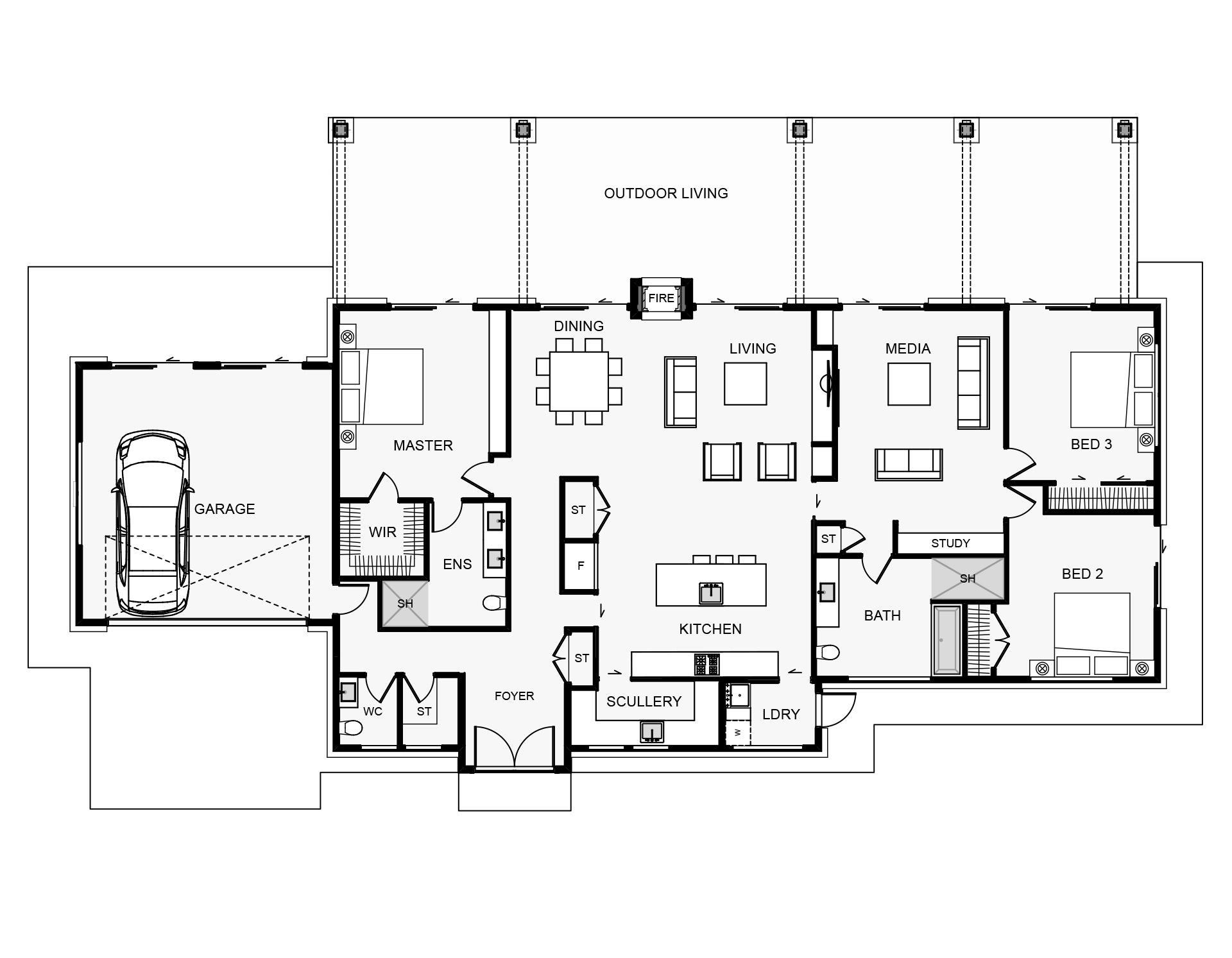 ToeToe Floorplan